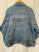 Vintage Budweiser Denim Jacket