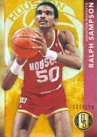 2015-16 Gold Standard #186 Ralph Sampson 127/299 Houston Rockets