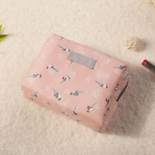 Sweet Floral Cosmetic Bag Travel Organizer Portable Beauty Pouch Toiletry Bag
