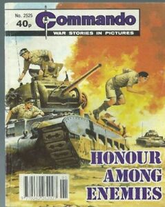 HONOUR AMONG ENEMIES,COMMANDO WAR STORIES IN PICTURES,NO.2525,WAR COMIC,1991