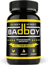 Bad Boy Testosterone Booster for Men Boost Fat Loss, Natural Energy and Strength