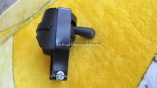 "new black bakelite DIP SWITCH round lever 7/8"" handlebars lucas replica 31482"