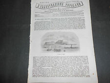 1871 ISOLA DI CAPRI FERROVIA SOTTERRANEA LONDRA PESCHIERA ASSEDIO PARIGI