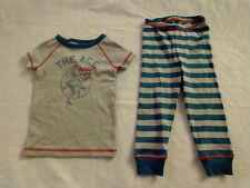 NWT Gymboree Baseball Short Sleeve 2PC Pajamas PJs Gymmies 18-24 Months Baby Boy