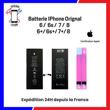 BATTERIE IPHONE 6 / 6S / 6S+ / 7 / 7+ / 8 / 8+ / PLUS NEUVE ORIGINAL + ADHESIF