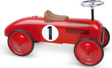Vilac RED METAL CAR Baby/Toddler Ride-on Toy Training Activity Development BN
