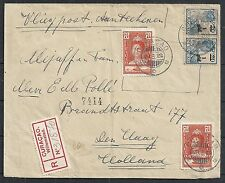 Curacao covers 1929 Airmailcover over NY to The Hague