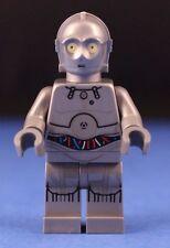 LEGO® brick STAR WARS™ 75146 Protocol Droid Minifigure Metallic Silver TC-14