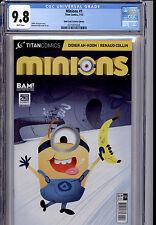 MINIONS #1 TITAN COMICS BOOKS A MILLION VARIANT CGC 9.8