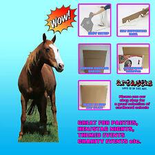 MUSTANG HORSE STALLION ANIMAL LIFESIZE CARDBOARD CUTOUT STANDUP STANDEE SC70