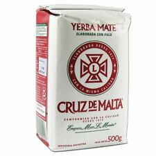 Cruz De Malta 1/2 Kilo Yerba Mate, New, Free Shipping