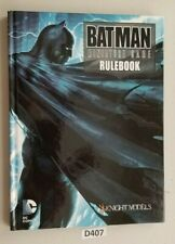 Knight Models Batman Miniature Game Rulebook 2015 Hardcover VG
