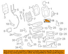 GM OEM Second Row Back Rear Seat-Armrest Right 22958344