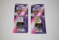 Rose Art Star Wars Figurine Stamper Lot of 2 R2-D2 and Yoda