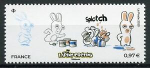France Cartoons Stamps 2020 MNH Raving Rabbids Cartoon Bunnies 1v Set