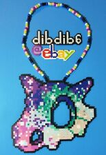 Cubone Kandi Perler Necklace Rave EDC PLUR Pokemon Go Galaxy