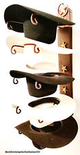 American Made Cowboy Hat Holder with Stars Powder Coated Lone Star