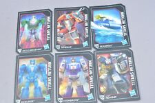 Transformers Titans Return Collector Cards Lot of 6 Generations Wheelie