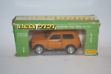 VOITURE RUSSE LADA NIVA 2121 MARRON SCALE 1/43