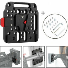 Aluminium V-Lock Quick Release External Battery Power Supply Plate for V-Mount L