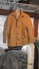 Fingerhut Size 42 Brown Vinyl Coat