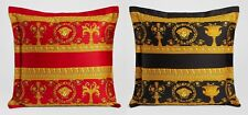 Versace Medusa Pillow Black/Red Reversible