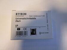 Busch Jaeger UP Universalschnittstelle 2-fach 6119/20 EIB KNX Unterputz Neu