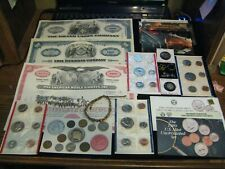 New listing Huge Junk Drawer Coin Lot Mint Set Lot Silver Indian Head 1 Cent Stock Bond Lot