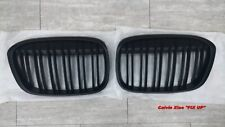 MATT BLACK KIDNEY DOUBLE RIMS GRILLE BMW X1 F48 X SERIES 2015-ON