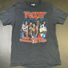 Vintage RATT Band Shirt 1984 Tour Today The Cellar L 80s Metal Graphic Rare