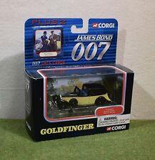 CORGI James Bond 007 PLUS 2 GOLDFINGER ROLLS ROYCE TY95601