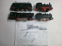 Konvolut 3 alte Dampflokomotiven +1 Elektrolok Dressler HWN Bub Distler Spur H0