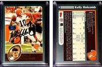 Kelly Holcomb Signed 2003 Topps #79 Card Cleveland Browns Auto Autograph