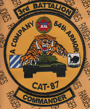 """755th Armored /""""LEADERS ALWAYS/"""" TANK TAB patch"""