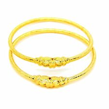 Indian Traditional Bollywood Ethnic Designer Gold Plated 2 pieces Bangles Set