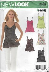 New Look Easy  Misses' top sewing pattern- 6466
