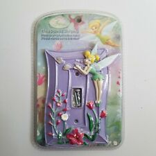 New Disney Fairies Hand Painted Tinkerbell Fairy Light Switch Wall Plate Cover