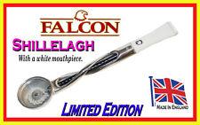 FALCON LTD EDITION BLACK  SHILLELAGH  PIPE STEM WITH WHITE MOUTHPIECE