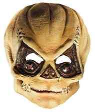 Sam Mask Trick 'r Treat Pumpkin Fancy Dress Up Halloween Adult Costume Accessory