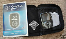 Bayer Contour Next Blood Glucose Monitoring System/Monitor/Meter + Test Strips