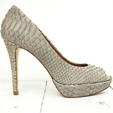 ZARA ☀ Plateau Pumps Gr. 38 Leder High Heels Shoes Scarpa