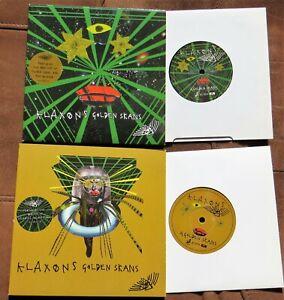"KLAXONS - 2 x 7"" Vinyl - Golden Skans + 3 x LIVE Tracks"