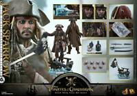 DHL 1/6 HOT TOYS DX15 PIRATES OF THE CARIBBEAN JACK SPARROW ACTION FIGURE