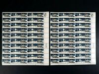 US Postage 8 Cents Stamp United States in Space A Decade of Achievement 2 Sheets