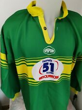 superbe maillot  rugby Trophée PASTIS 51 taille xl vintage N°15 midi olympique