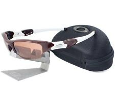 Oakley Custom FLAK JACKET Team Dark Red Frame VR28 Lens Mens Sunglasses w/ Case