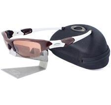 Oakley Custom FLAK JACKET Team Dark Red Frame VR28 Lens Mens Sport Sunglasses