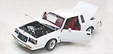 1987 BUICK REGAL TURBO T WHITE W/COA LIMITED EDITION 1/24 BY GMP 8204