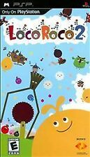 LocoRoco 2 Canadian edition-English and French instructions.