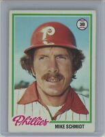 1978 Topps #360 MIKE SCHMIDT (Phillies) HOF